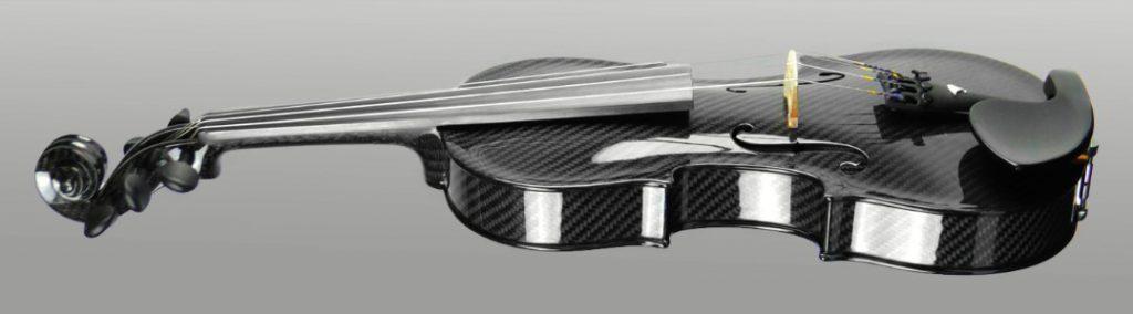 Carbon Fiber Violin - Run the music